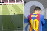 Video: Lionel Messi dances past half of the Atletico Madrid team in mazy run for Barcelona that led to extremely close chance