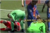 'Don't mess with us' – Gerard Pique fired insult at Luis Suarez after ex-teammate tried to sneak penalty against Barcelona for Atletico