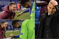 """""""Monumental"""" anger from Real Madrid over images of Eden Hazard joking with Chelsea players"""