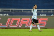 Lionel Messi attribute the pitch conditions as to one of the reasons Argentina drew against Chile