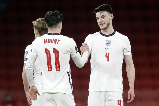 Article image: https://image-service.onefootball.com/resize?fit=max&h=675&image=https%3A%2F%2Ficdn.caughtoffside.com%2Fwp-content%2Fuploads%2F2021%2F06%2FEngland-Mason-Mount-Declan-Rice.jpg&q=25&w=1080