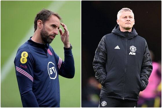 Article image: https://image-service.onefootball.com/crop/face?h=810&image=https%3A%2F%2Ficdn.caughtoffside.com%2Fwp-content%2Fuploads%2F2021%2F06%2FGareth-Southgate-and-Ole-Gunnar-Solskjaer.jpg&q=25&w=1080