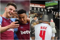 (Photos) – Jesse Lingard fuels rumours of transfer to West Ham with shirt choice as Man United attacker watched England vs Croatia