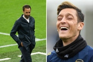 Mesut Ozil pokes fun at England with Braveheart tweet after toothless performance in Euro 2020