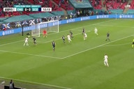 Video: Mason Mount fires wide with early close-range chance for England against Scotland