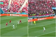 Video: Cristiano Ronaldo fuming after Liverpool star Diogo Jota ignores wide open pass in massive chance for Portugal in Euros opener