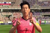 Video: 'Stay strong, I love you' – Heung-Min Son dedicates goal to ex-Spurs teammate Christian Eriksen after devastating collapse