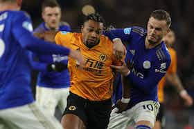 Article image: https://image-service.onefootball.com/crop/face?h=810&image=https%3A%2F%2Ficdn.caughtoffside.com%2Fwp-content%2Fuploads%2F2021%2F06%2FWolves-Leicester-City-Adama-Traore-James-Maddison.jpg&q=25&w=1080