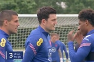 Video: Manchester United's Harry Maguire spotted back in England training in possible boost for Euro 2020