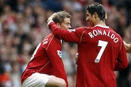 Solskjaer jokes that he taught two Man United legends 'a few things' in training