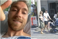 (Photo) Christian Eriksen pictured on stroll in Copenhagen a month after leaving hospital following Euro 2020 collapse
