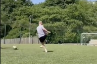 Video: Former Man United great shows he's lost none of his skills in epic training clip