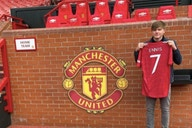 Photos: Starlet presented at Old Trafford after completing transfer from Liverpool