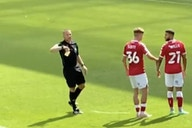 """(Video) Hilarious pre-season scenes as referee books entire crowd for chanting """"you're just a sh** Mike Dean"""""""