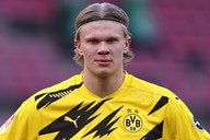 Erling Haaland coy and a little bit cheeky when asked about Chelsea rumours