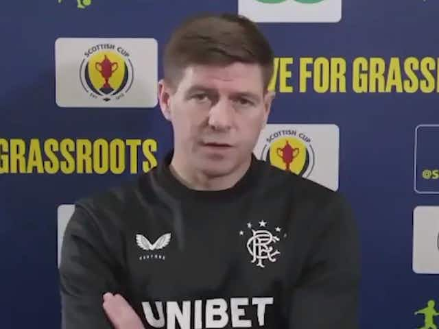 (Video) 'I was really proud' – Gerrard praises Arsenal actions against racism in tie with Slavia Prague