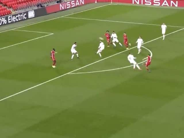 (Video) James Milner forces brilliant save from Courtois with long-range Anfield curler