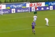 (Video) Liverpool-linked £36m attacker scores seven of Fiorentina's 11 goals in one half