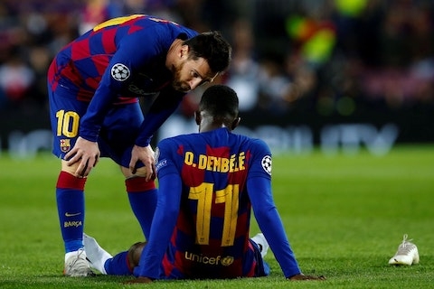 Barcelona forward Ousmane Dembele closing in on Man United move after Pogba  persuasion - OneFootball