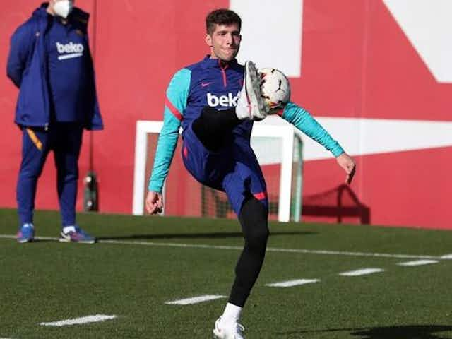 Barcelona open contract talks with first-team player