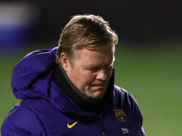 Spanish football evening headlines: Koeman pressure at Camp Nou, Barcelona top Under-21 list and Real Madrid confirm squad for Anfield