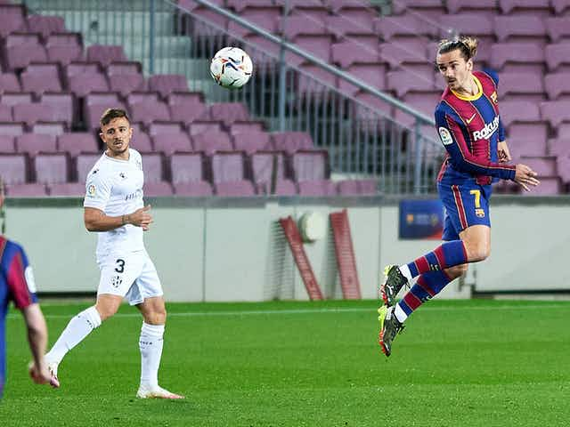 Watch: Antoine Griezmann scores Lionel Messi-gifted penalty to score Barcelona's fifth