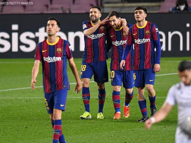 Watch: Lionel Messi gives Barcelona the lead against Getafe