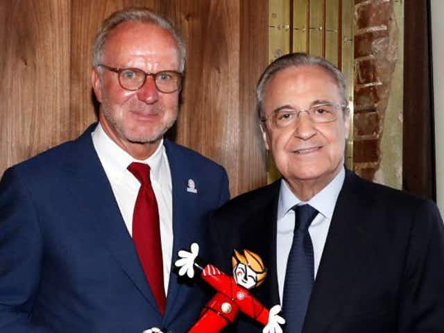 """Rummenigge sends message to Florentino: """"What you have to do is reduce costs"""""""