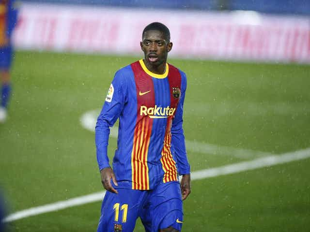 Ousmane Dembele to miss Barcelona's clash with Getafe through injury