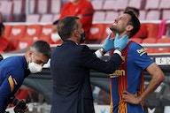 Sergio Busquets offers Barcelona fitness boost