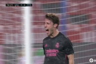 Watch: Odriozola restores Madrid's two goal lead after Molina had pulled one back for Granada