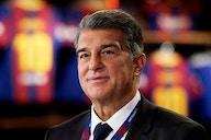 Joan Laporta travels to Germany to watch Barcelona's pre-season friendly with Stuttgart