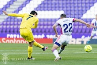 Villarreal beat Real Valladolid 2-0 at the Jose Zorrilla