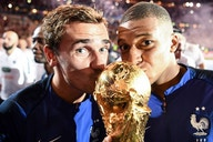 Kylian Mbappe takes free-kick taking duties from Antoine Griezmann for France