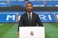 """Tearful Sergio Ramos bids farewell to Real Madrid: """"This is more than a goodbye; it's a see you later. I'll be back."""""""