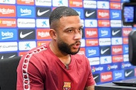 """Memphis Depay: """"Everyone's been very kind to me, I feel really welcome in the dressing room"""""""