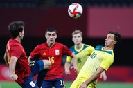 Watch: Mikel Oyarzabal gives La Roja the lead against Australia at the Olympic Games