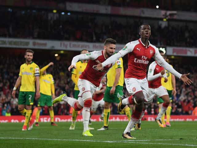 Should Nketiah get another chance against Everton?