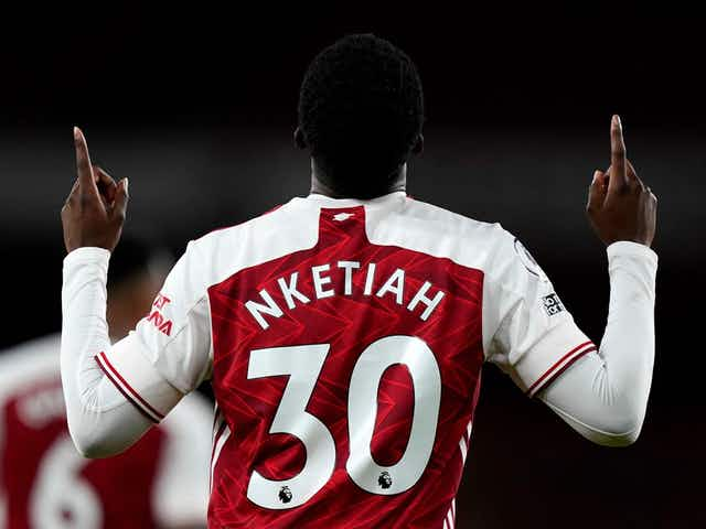 Nketiah's celebration is embarrassing to Arsenal