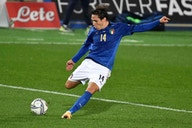 Image: Federico Chiesa's Italy shirt up for online charity auction
