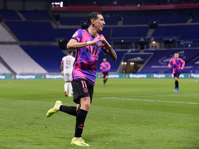 Di Maria Stands Two Assists Away from Making PSG History