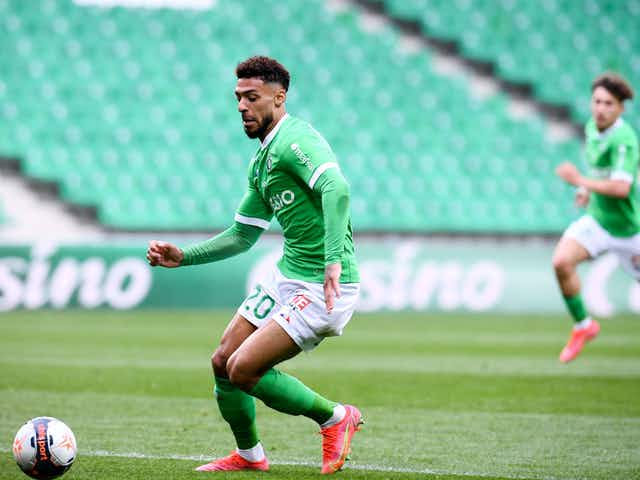 Video: Denis Bouanga Opens the Scoring for AS Saint-Étienne