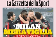Gallery: 'Marvellous Milan', 'Super Milan!' – Italian papers react to Milan's win over Juve