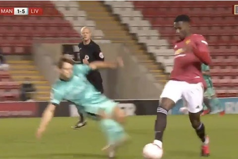 Video Carnage In Man United U23 Vs Liverpool U23 Match After Double Red Onefootball