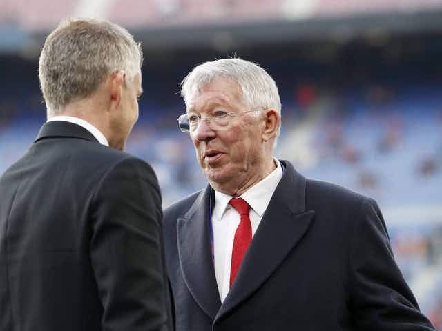 Sir Alex Ferguson unhappy with Manchester United treatment of Solskjaer