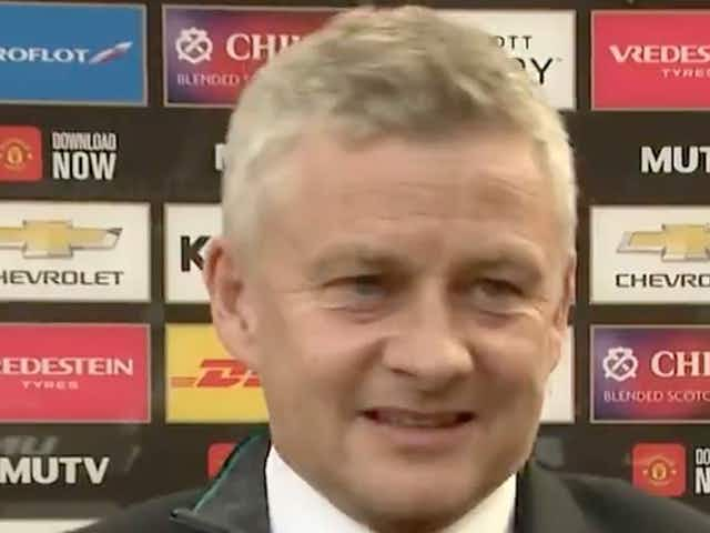 (Video) Solskjaer explains Man Utd team selection v Burnley