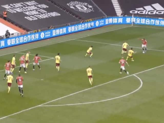 (Video) Mason Greenwood bags brace to give Man United 2-1 lead vs Burnley