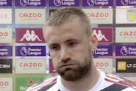 (Video) Luke Shaw hails Man United's resilience to continually comeback in games