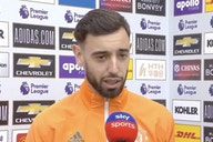 (Video) Bruno Fernandes unaffected by pre-match protests