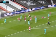 (Video) Diogo Jota equalises with flick following scramble inside United box